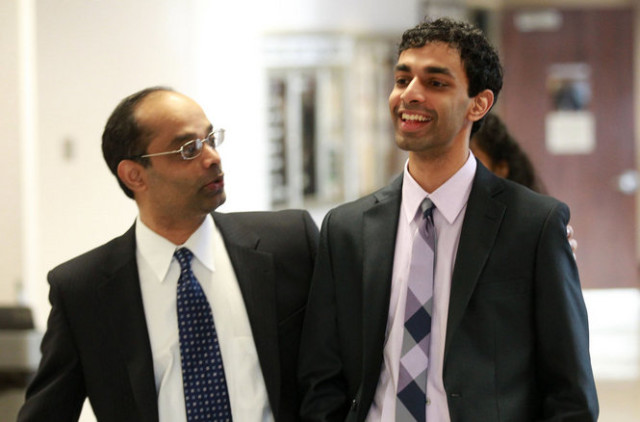 Ravi Pazhani and Dharun Ravi. Image Source: NJ.com Credits: John Munson/The Star Ledger