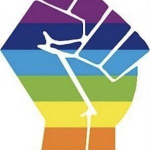 rainbow fist image