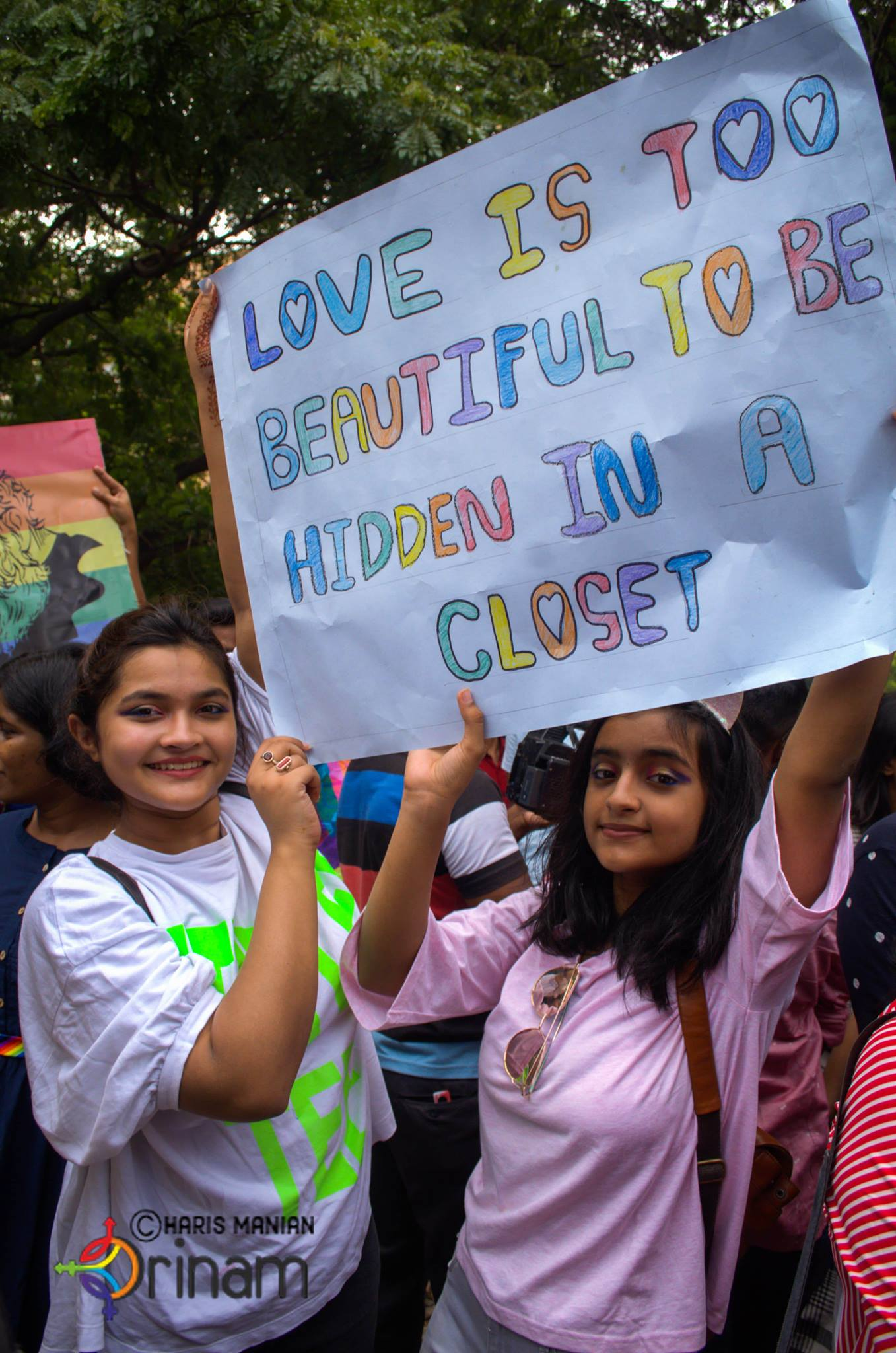 Image from Chennai Pride 2018