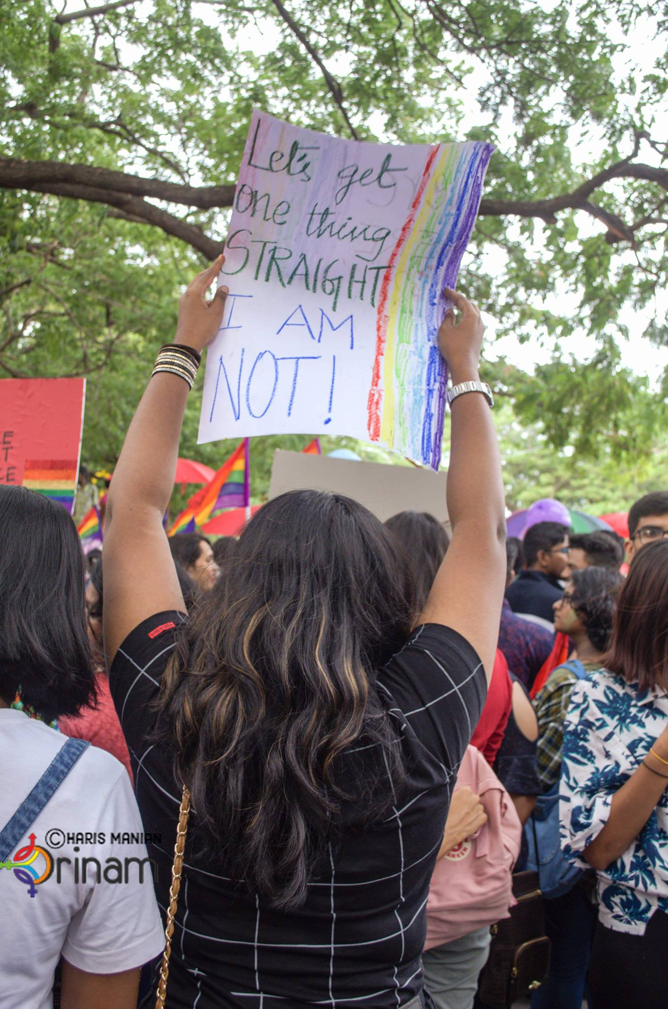 Image from Chennai Pride 2018, copyright Orinam.net