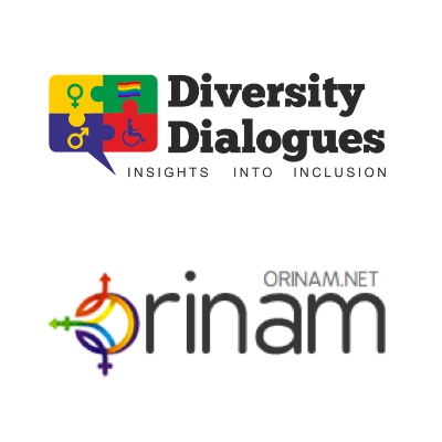 logos of Diversity Dialogues and Orinam